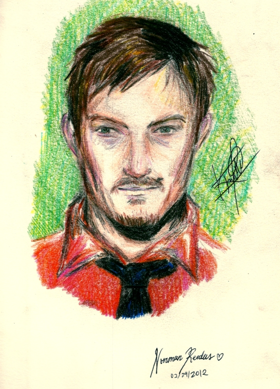 Reedus Drawing One