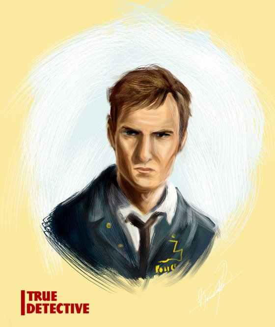 Speed paint of Rustin Cohle from True Detective